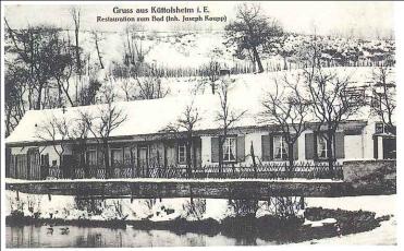 restaurant du Lac (bain avec cabines aménagées) fin 19è début 20è siècle